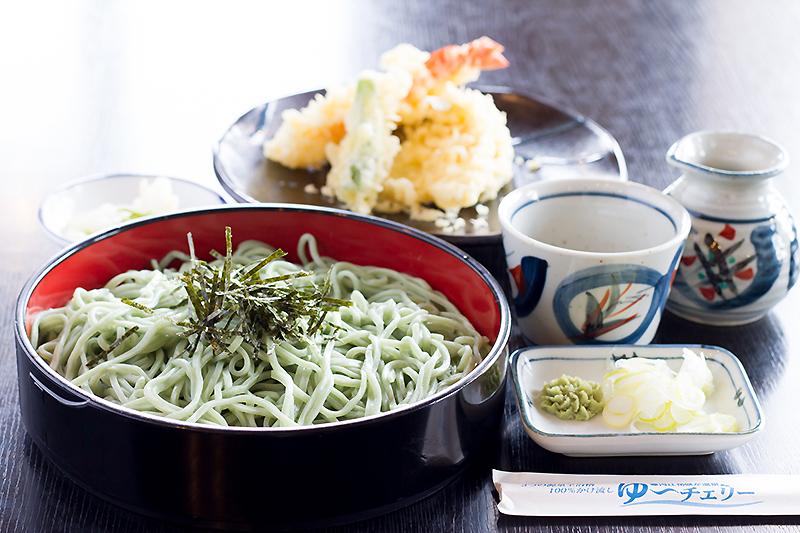 寒河江花咲か温泉 ゆ〜チェリー 食事の写真