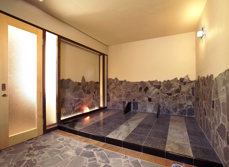 埼玉県 星音の湯 岩盤浴の写真