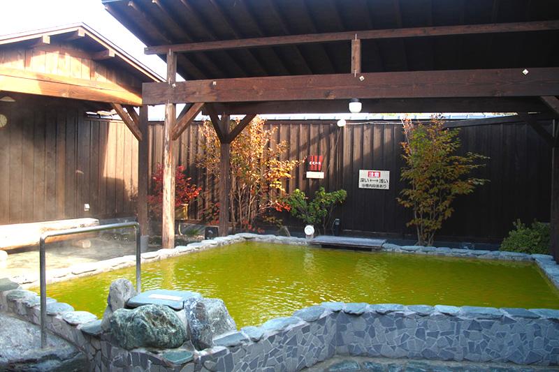 埼玉県 星音の湯 岩露天風呂の写真