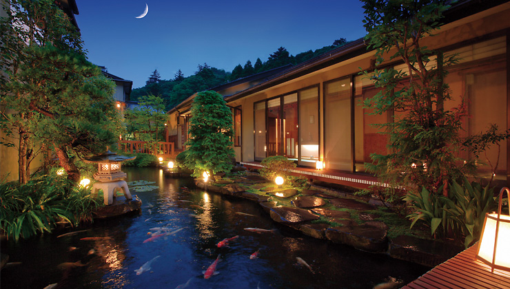 旬彩の宿 緑水亭 日本庭園
