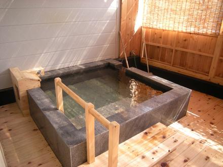 白浜温泉公園 草原の湯 貸切露天風呂の写真