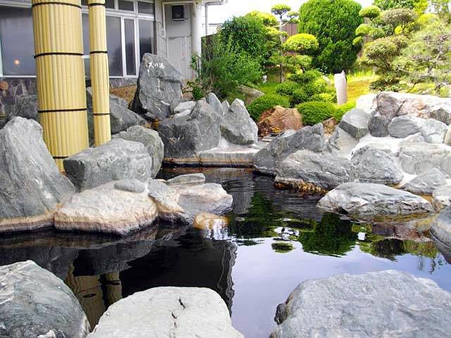 静岡 遠州 和の湯 露天風呂の写真