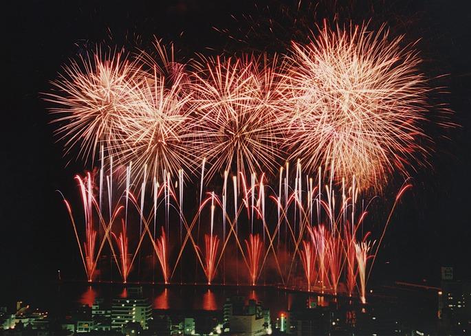 静岡 平鶴 花火大会の写真