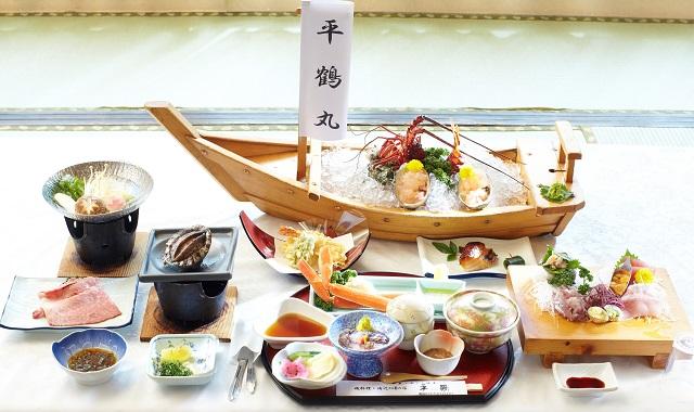 静岡 平鶴 食事の写真