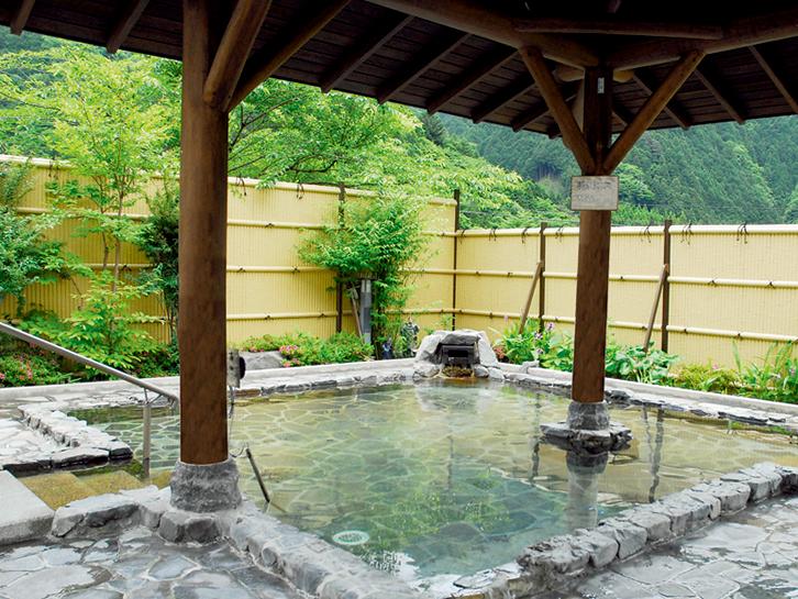 静岡 梅ケ島新田温泉 黄金の湯の写真