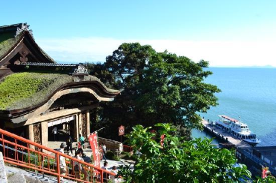 須賀谷温泉 観光名所の写真