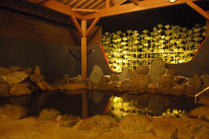 須賀谷温泉 温泉の写真
