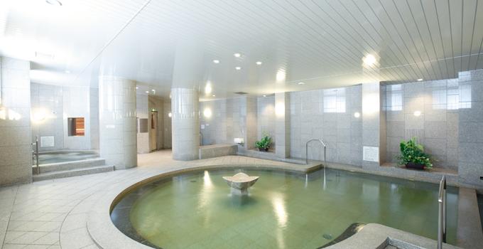 アートホテルズ札幌 天然温泉パークサイド・スパの温泉大浴場の写真
