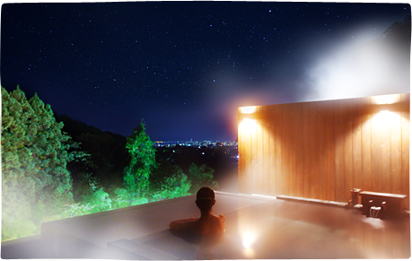 瀧の湯 貸切露天風呂の写真