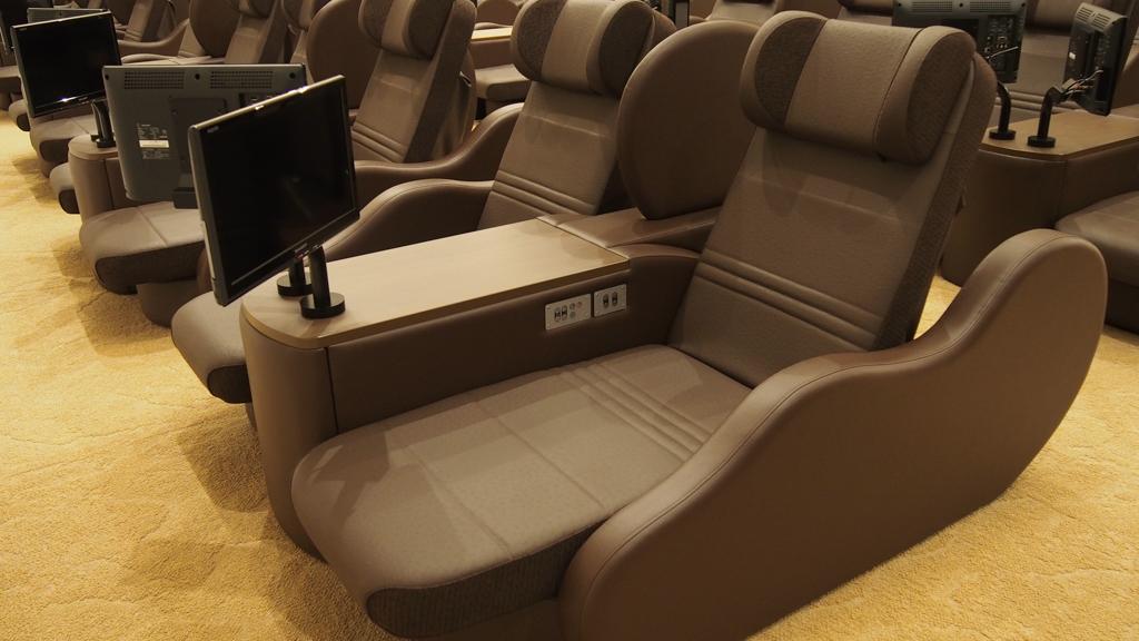 1席1席が広めに作られているので、リラックスできる