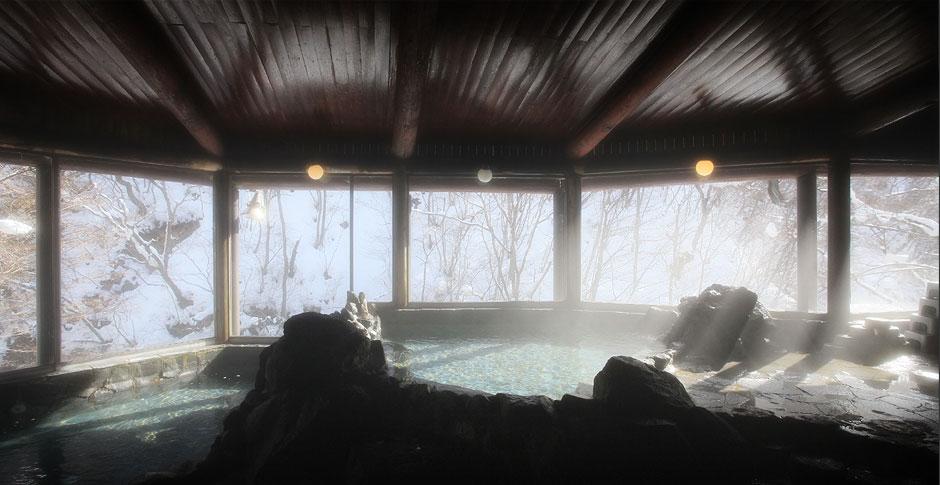 栃木 彩り湯かしき 花と華 風呂の写真