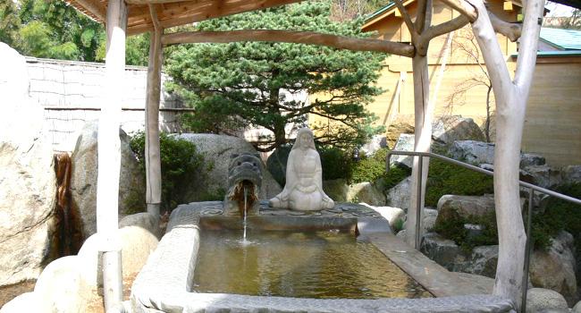 卯の花温泉 はぎの湯 天然温泉の写真