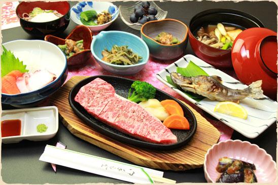 山形 新高湯温泉 吾妻屋旅館 料理の写真