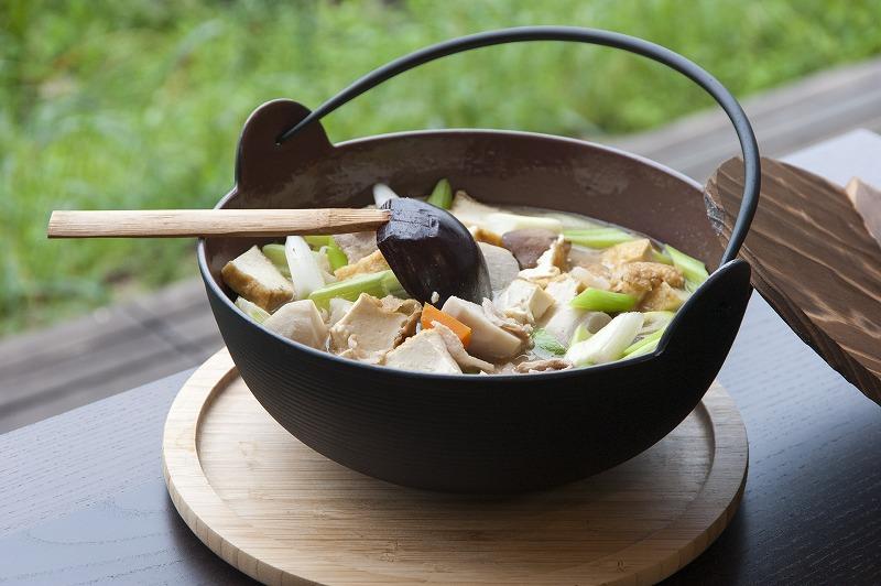 山形 湯の花茶屋 新左衛門の湯 鍋の写真