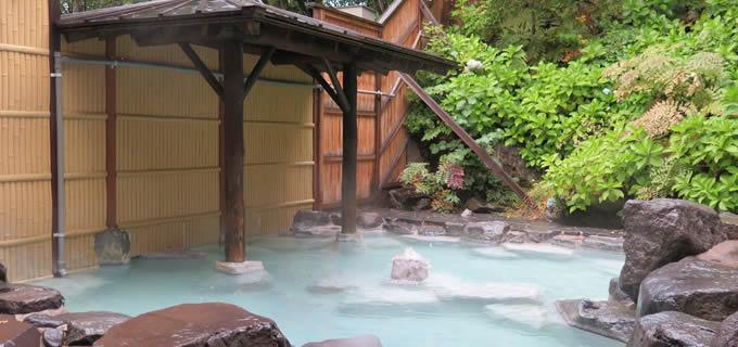 蔵王センタープラザ 露天風呂の写真