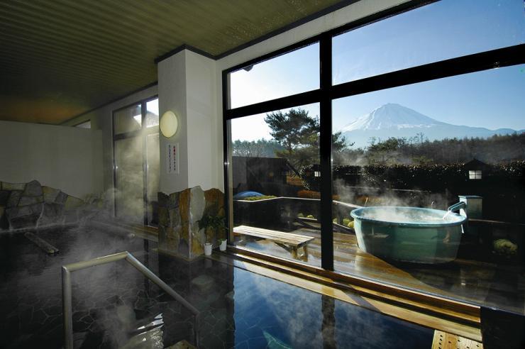 山梨 富士眺望の湯 ゆらり お風呂の写真