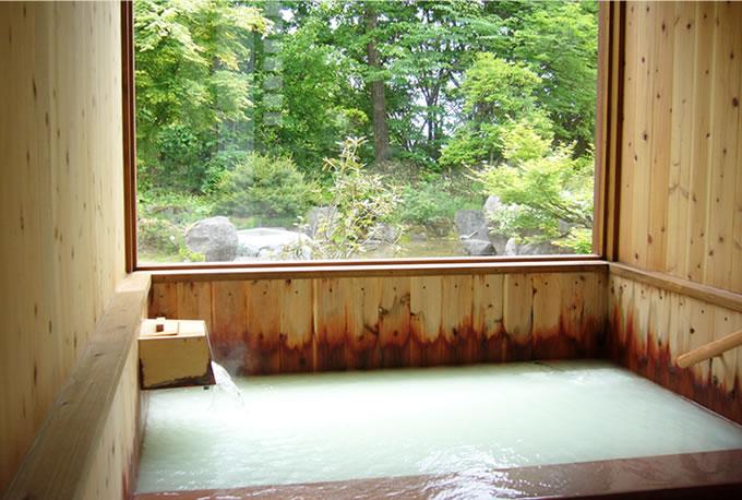 蔵王温泉ヴァルトベルク 内湯