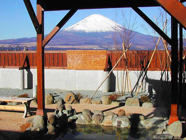 富士八景の湯 露天風呂