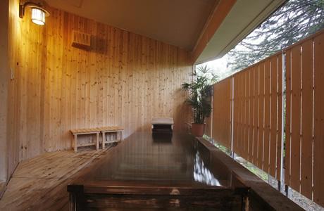 北海道 ラビスタ大雪山 貸切露天風呂の写真