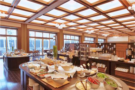 北海道 十勝川温泉第一ホテル豊洲亭 朝食の写真