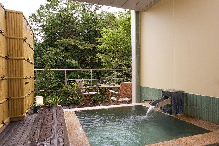 埼玉県 ホテル美やま 露天風呂付き客室の写真