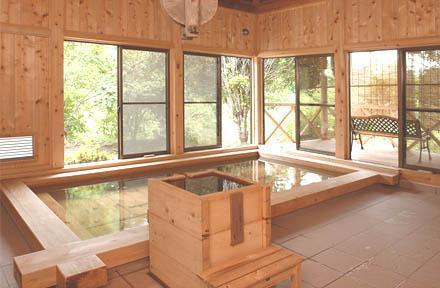 茨城 湯の澤鉱泉 内湯の写真