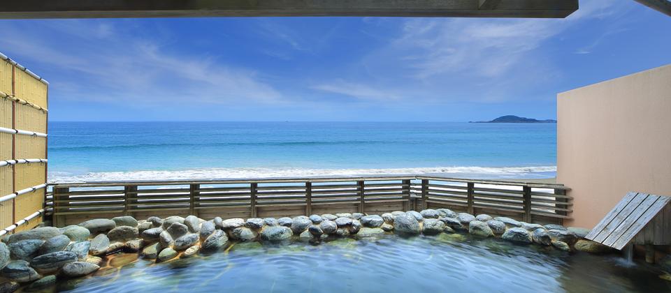鴨川グランドホテル 貸切露天風呂