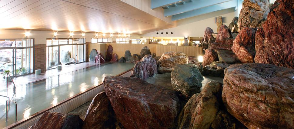 金太郎温泉 カルナの館 立山連峰パノラマ大浴殿