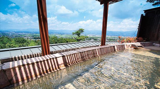 みのう山荘 展望露天風呂