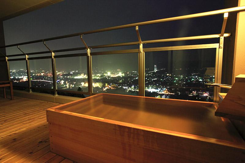 埼玉県 ナチュラルファームシティ農園ホテル 露天風呂付き客室の写真