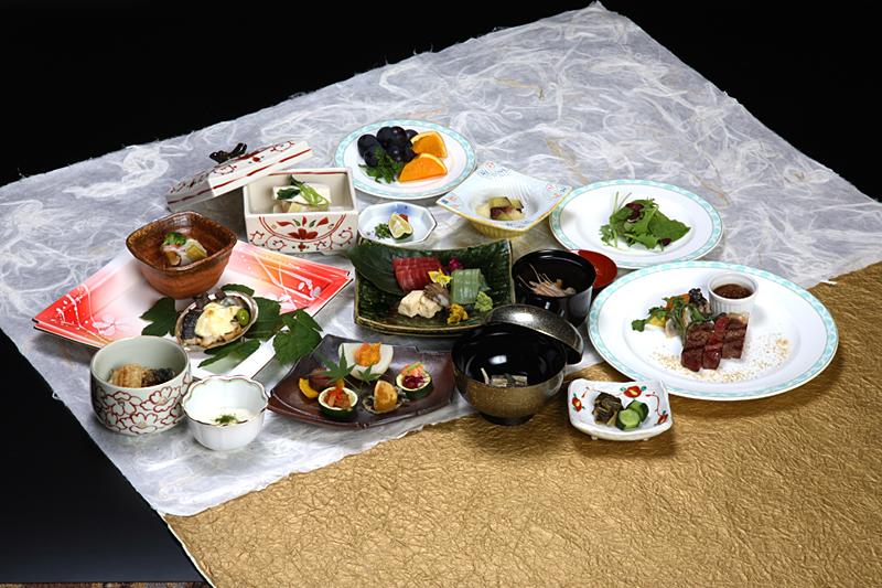 埼玉県 ナチュラルファームシティ農園ホテル 和洋会席の写真