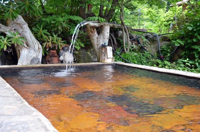 日光 日光沢温泉 露天風呂の写真
