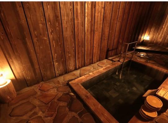 野沢温泉ホテル 貸切露天風呂