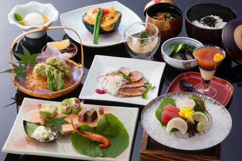 大阪 不動口館 料理の写真