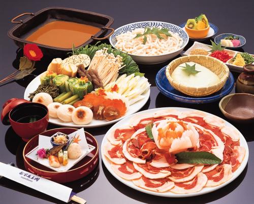 大阪 不死王閣 食事の写真