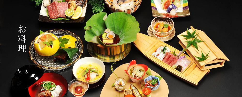 大阪 みのお山荘 風の杜 食事の写真