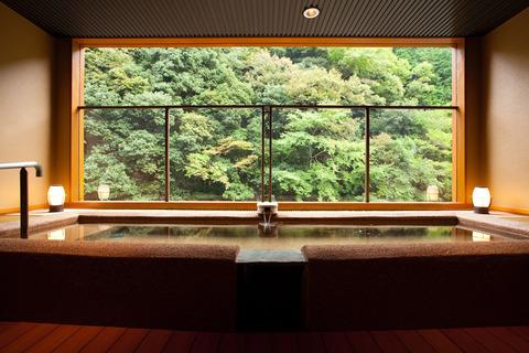 大阪 山水館 露天風呂の写真
