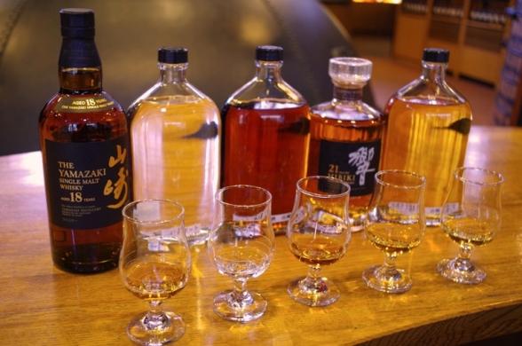大阪 山水館 酒の写真