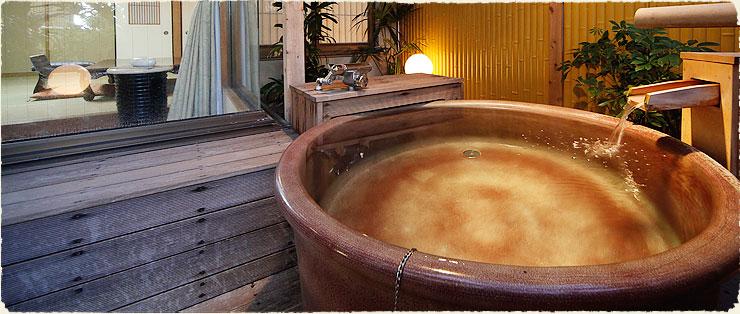 静岡 熱海温泉湯宿みかんの木 露天風呂つきの部屋の写真