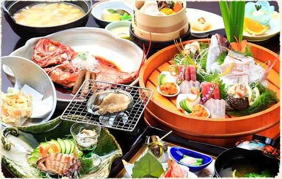 静岡 熱海温泉湯宿みかんの木 料理の写真