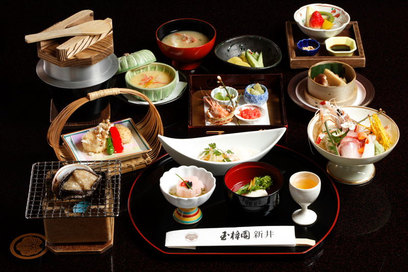 静岡 玉樟園新井 懐石料理の写真