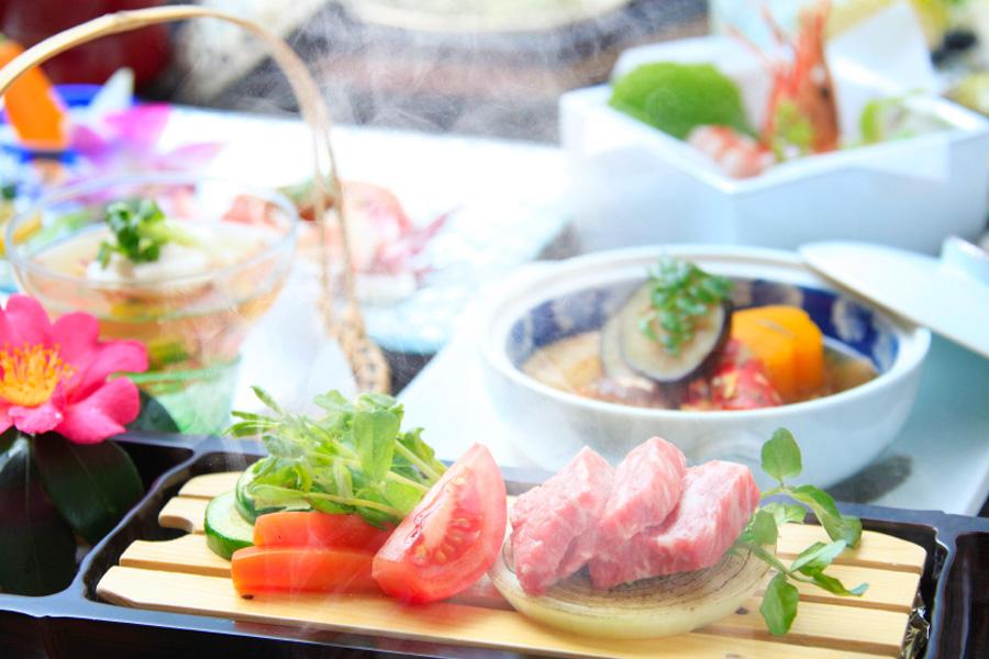 静岡 西伊豆今宵 和食会席の写真