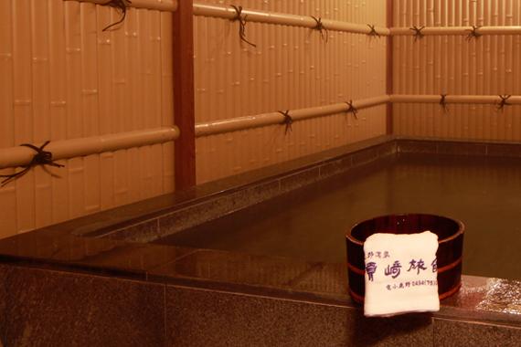 埼玉県 須崎旅館 貸切露天風呂の写真
