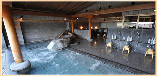 鳥取 山陰・はわい温泉 望湖楼 温泉の写真
