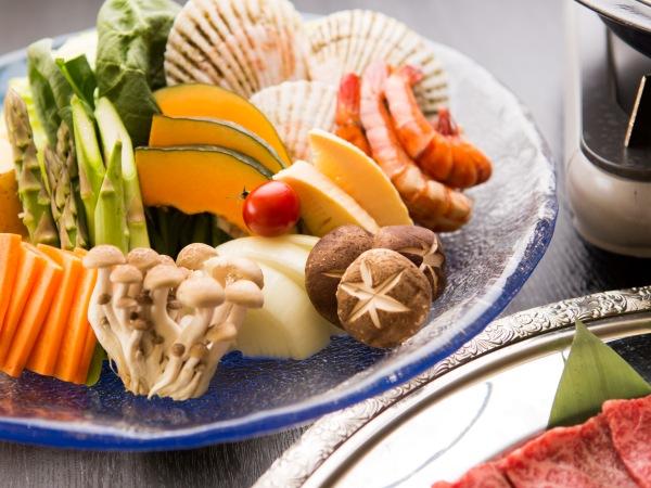 山梨 ネオオリエンタルリゾート八ヶ岳高原 野菜の写真