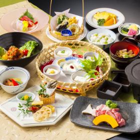 山梨 湯村常磐ホテル 料理の写真