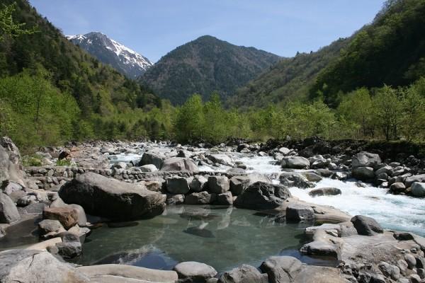 深山荘 露天風呂