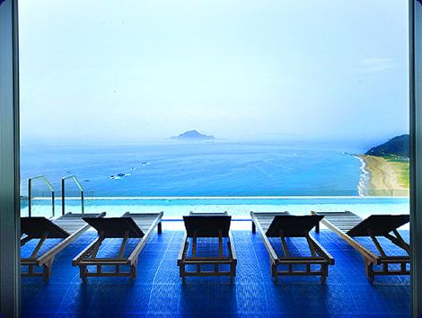伊良湖ビューホテル 展望風呂