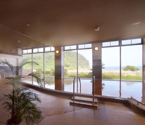 陽の岬温泉 内湯