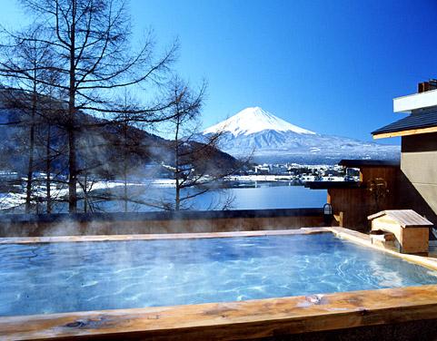 富士吟景 露天風呂